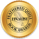 Image of Feathered Quill 2019 Finalist badge.
