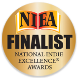 Image of National Indie Excellence Award 2019 Finalist badge.